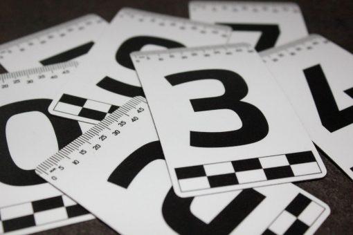 Набор магнитный табличек с номерами