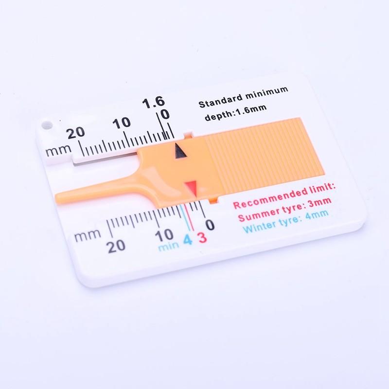 Линейка измерения глубины протектора шин 0-20 мм
