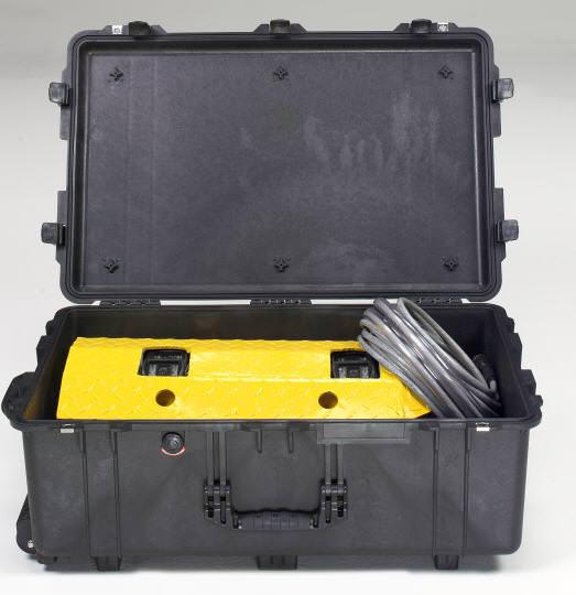 Укладка системы VI108 в кейсе