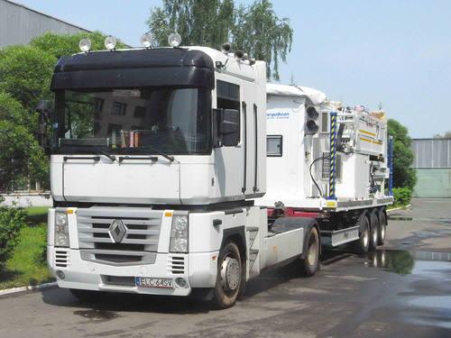 CARGOSCAN DTP-5000M — Транспортное положение