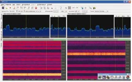 2-х канальная запись и обработка радиосигналов в различных полосах