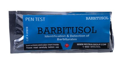 """Тест """"Barbitusol"""" для обнаружения барбитуратов"""