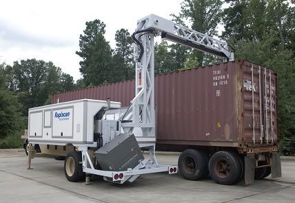 """Мобильная рентгеновская установка """"RAPISCAN EAGLE T10"""" для досмотра автотранспорта"""