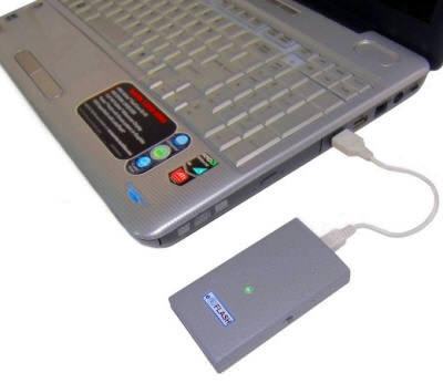 """Флеш-накопитель """"EPOS eFlash-X"""" с возможностью экстренного уничтожения данных"""