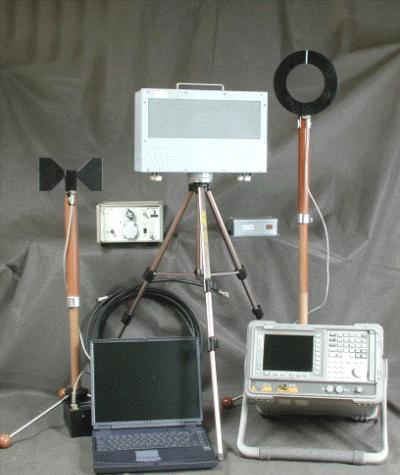 """Программно-аппаратный комплекс для проведения измерений реального затухания электромагнитных волн и электрических сигналов на трассе их распространения """"Гриф-РЗ"""""""
