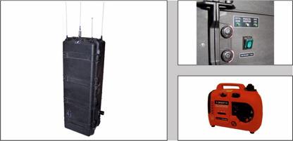 Блокиратор радиоуправляемых взрывных устройств переносной GRIPHON-10P