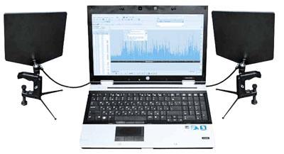 """Двухканальный комплекс радиомониторинга (радиоконтроля) и цифрового анализа сигналов """"Кассандра-СО""""."""