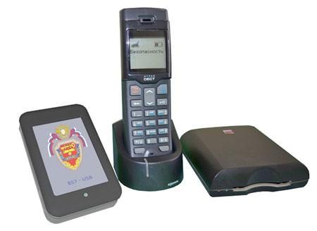 "DECT телефон ""М-549М"" с защитой от прослушивания"