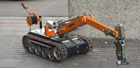 "Робот для разминирования ""МРК-27Х"""