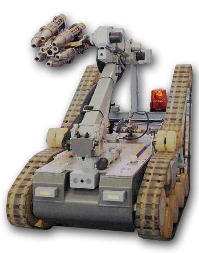 """""""МРК-ВТ-1"""" - роботизированный комплекс для взрывотехнических работ"""