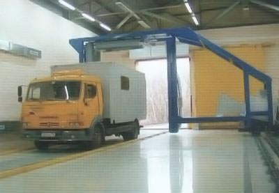 """Комплекс досмотра автотранспорта """"Портал-Бета"""""""