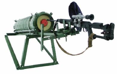 Пулеуловитель модели ПУ-2