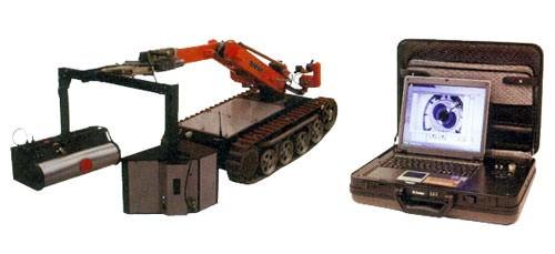 """Портативная рентгенотелевизионная установка для мобильного робототехнического комплекса """"ПЗ-1074"""""""