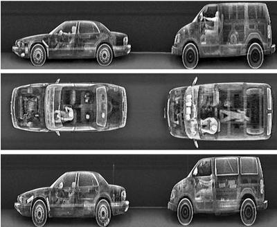 """Рентгеновская установка """"Застава-1"""" для контроля автотранспорта"""